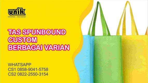 Bikin Tas Spunbound Custom