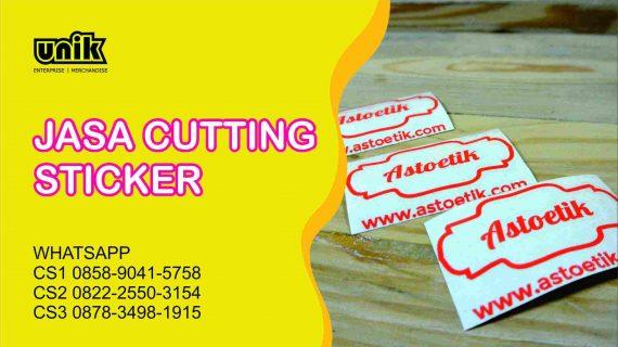 tempat cutting sticker murah dan cepat jogja