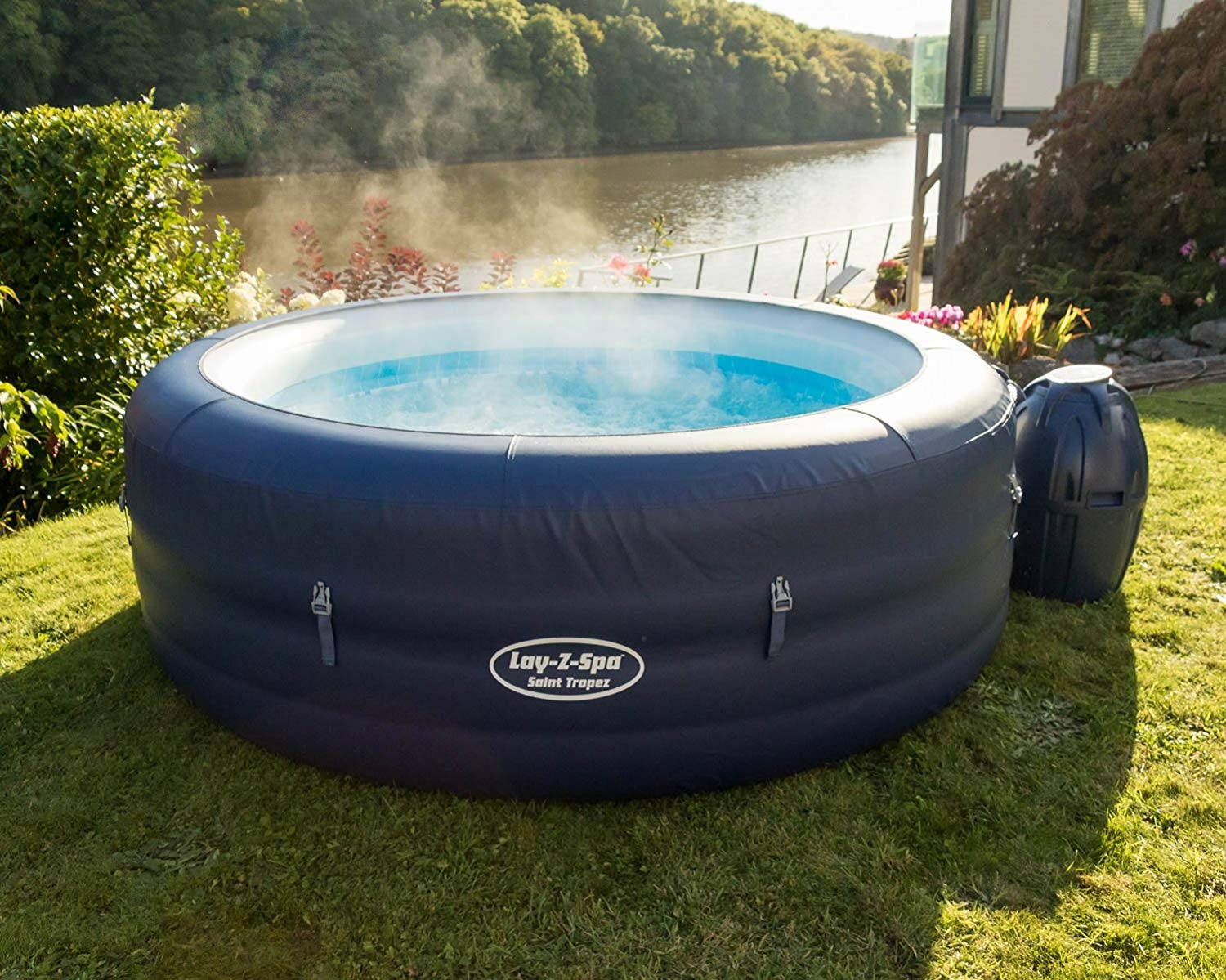 Jacuzzi Pool Amazon Amazon Selling Huge Inflatable Hot Tub In Cheapest Ever Prime Day