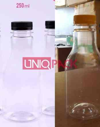 botol plastik pir lemon 250ml