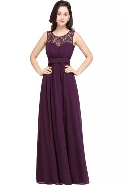 Soothing Purple Purple Navy Blue Lace Chiffon Long Bridesmaid Dress Long Bridesmaid Dresses Sleeves Long Bridesmaid Dresses Sparkle