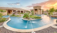 This Gilbert Luxury Estate Has Its Own Lazy River ...