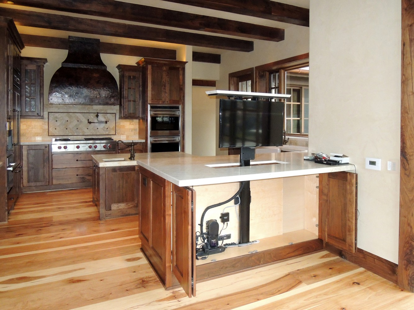 Tv Cabinet Kitchen Tv Media Cabinetry Unique Design Cabinet Co