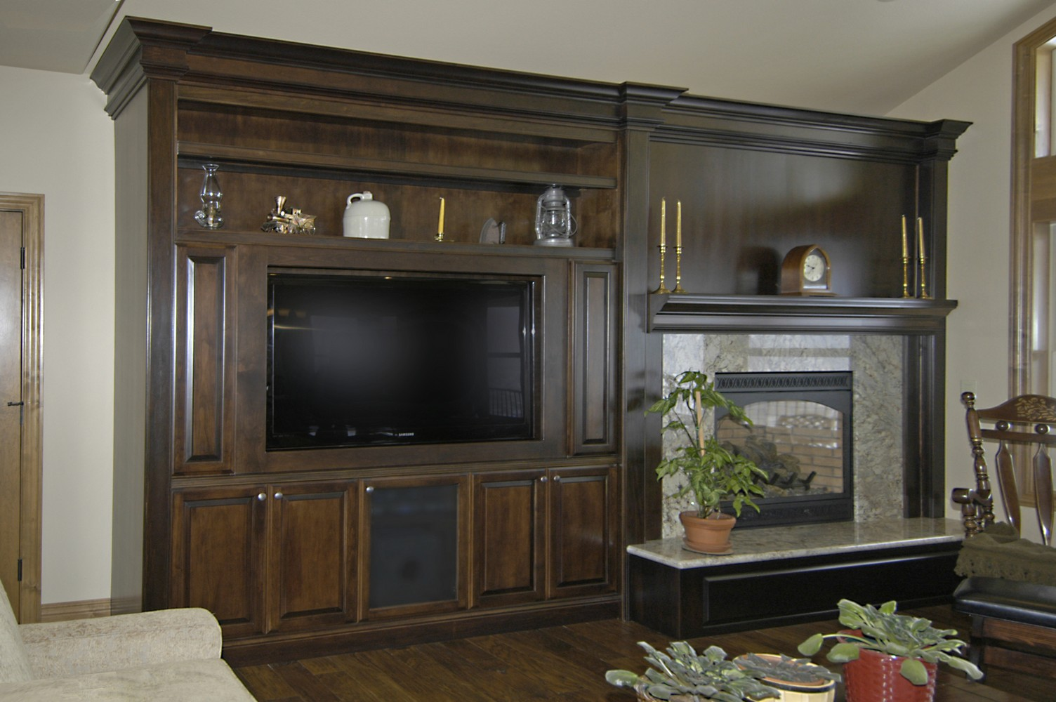 TV Media Cabinetry