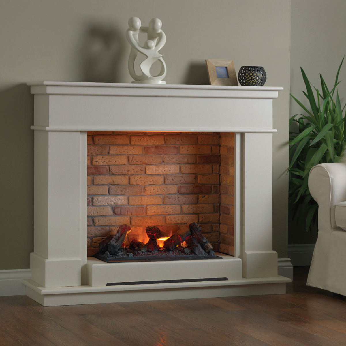 Unique Fireplaces Unique Fireplaces Brierfield Wood Fireplace
