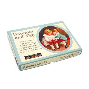 Nostalgia – Cork Board & Hammer. Picture builder set - artnomore