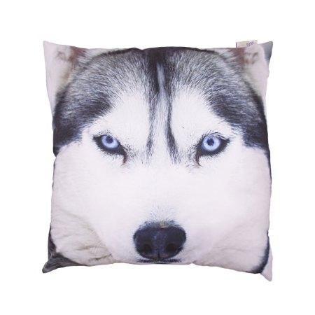 wolf print cushions