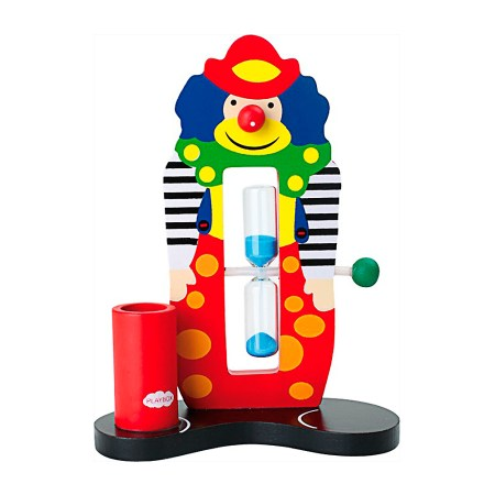 child toothbrush timer clown from legler