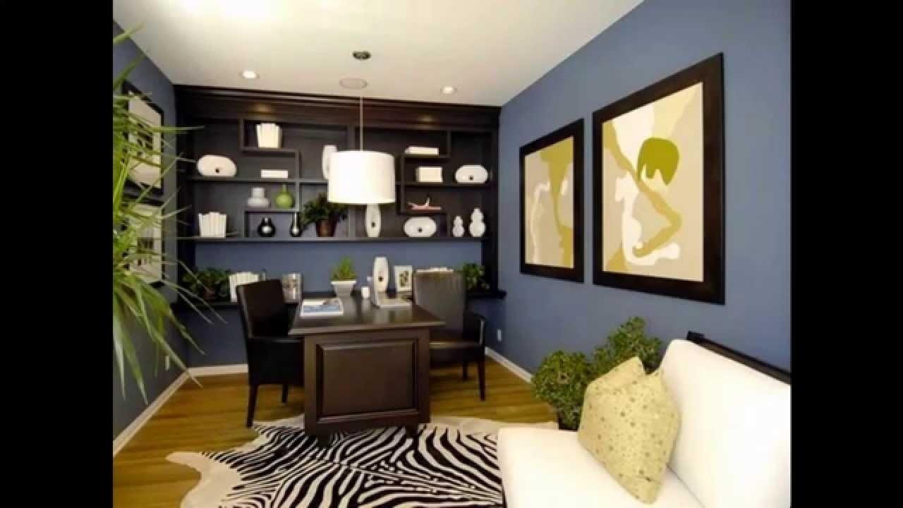 10 Nice Home Office Paint Color Ideas 2021