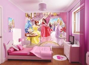 プリンセスにかこまれて過ごす夢のある子供部屋