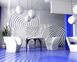 スタイリッシュで宇宙を想像するような部屋