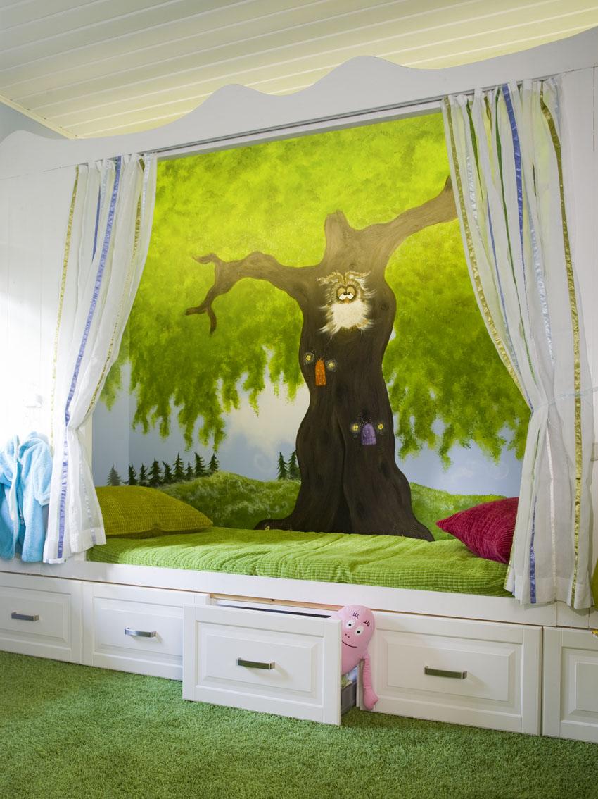 ステキな物語の夢が見られるベッド