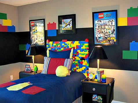 レゴ好きな男の子のお部屋