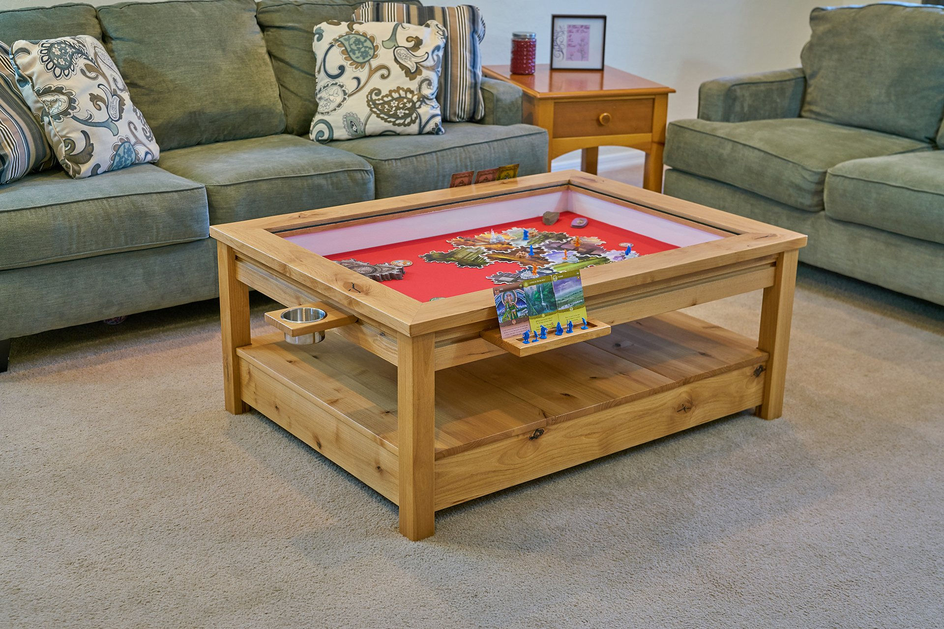 Geeky Coffee Tables Uniquely Geek Custom Gaming Table Viscount Coffee Table