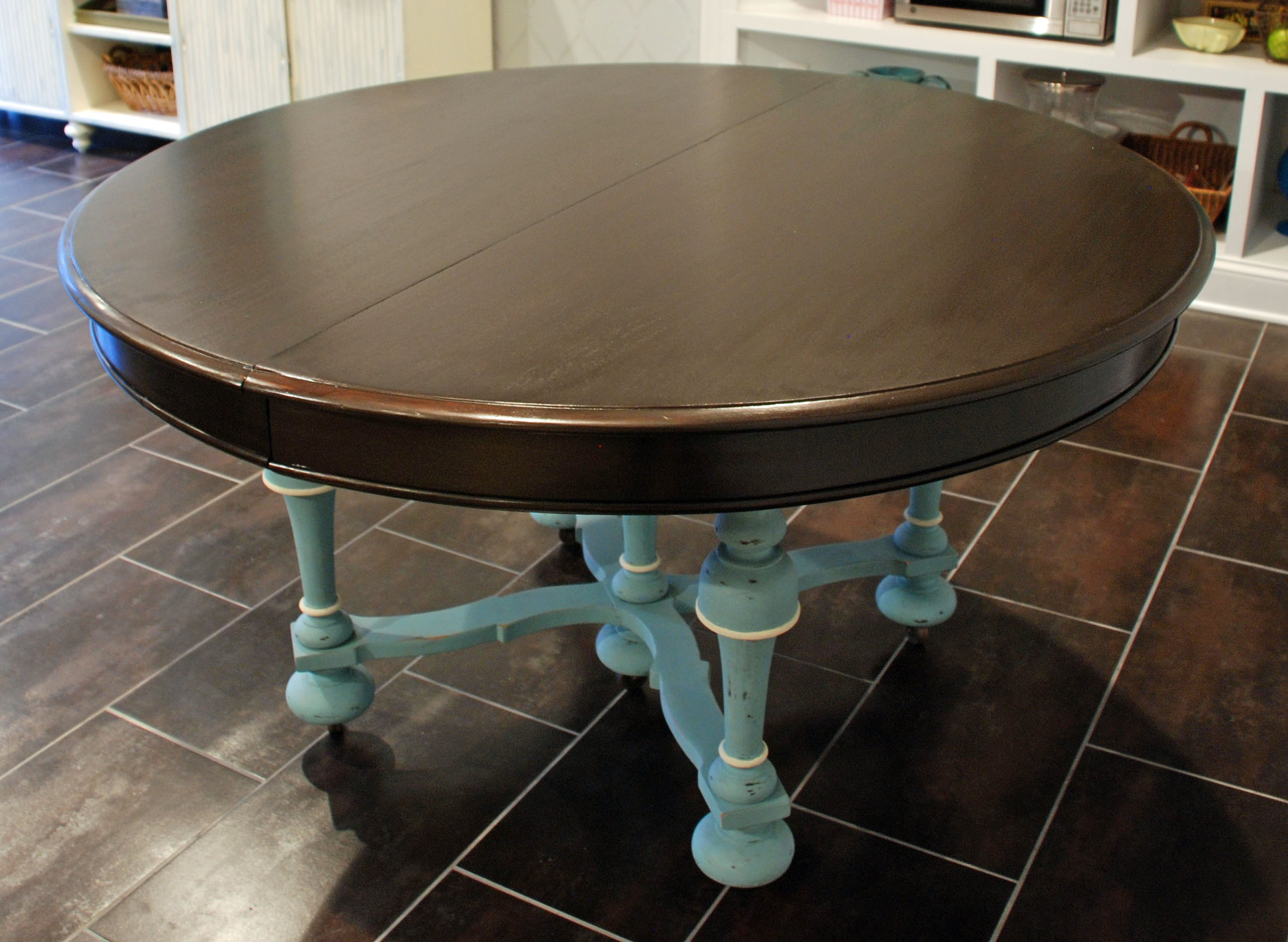 Tisch Lackieren Chalk Paint Dining Table
