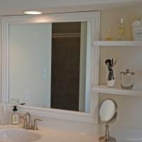 Framing Bathroom Mirrors the Hard Way