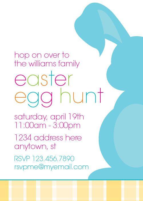 Easter Egg Hunt Invitation \u2013 made by CrowningDetails on Etsy