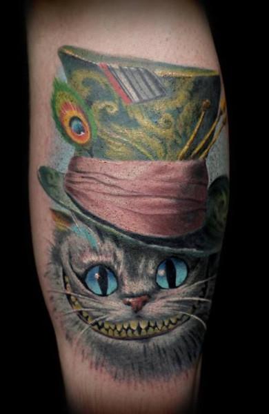 Falling Down The Rabbit Hole Wallpaper Татуировка Чеширский Кот значение эскизы тату и фото