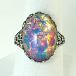 Small Of Opal Wedding Rings