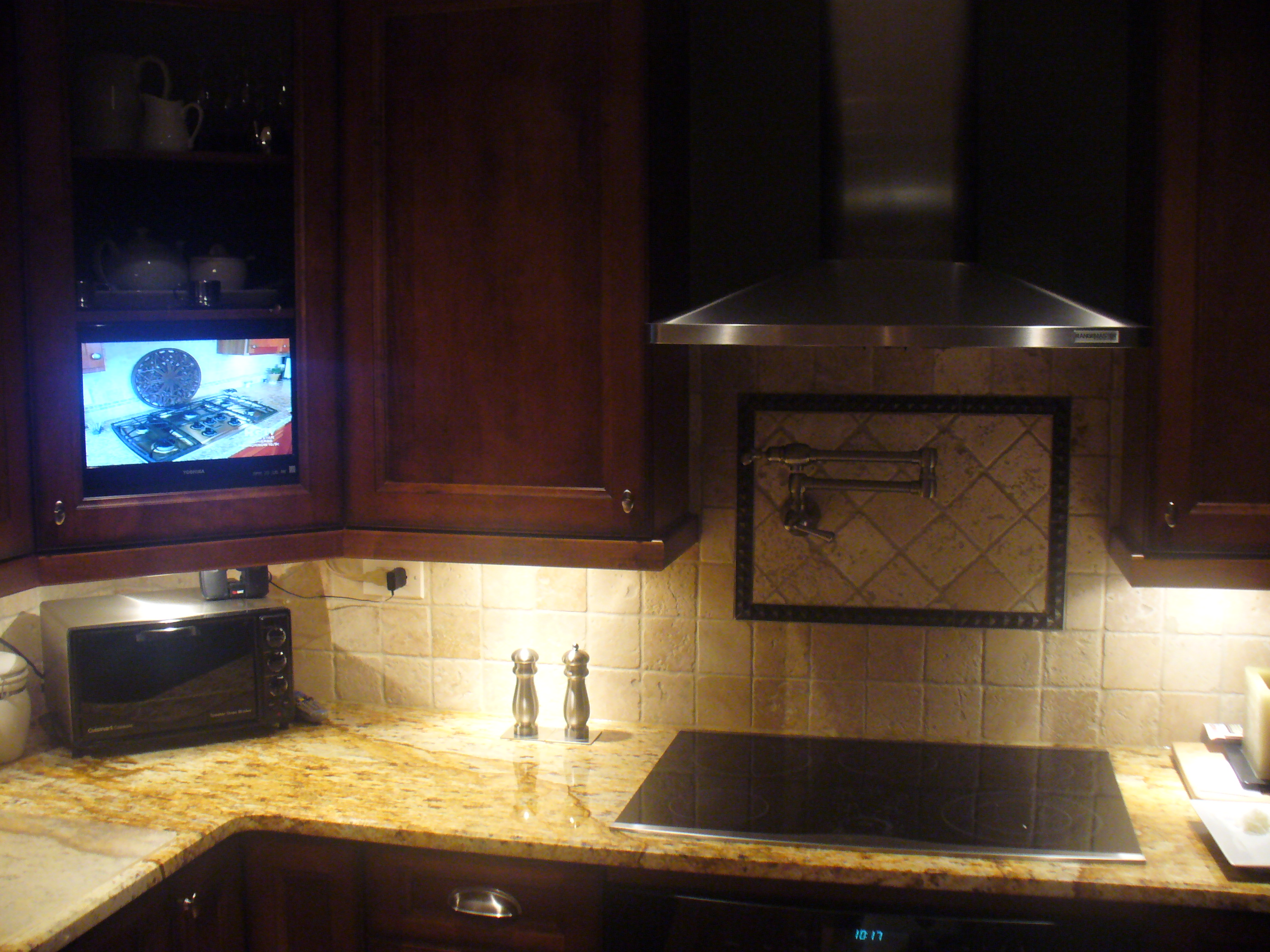 Tv Cabinet Kitchen Everything And The Kitchen Sink Unique Wiring Solutions