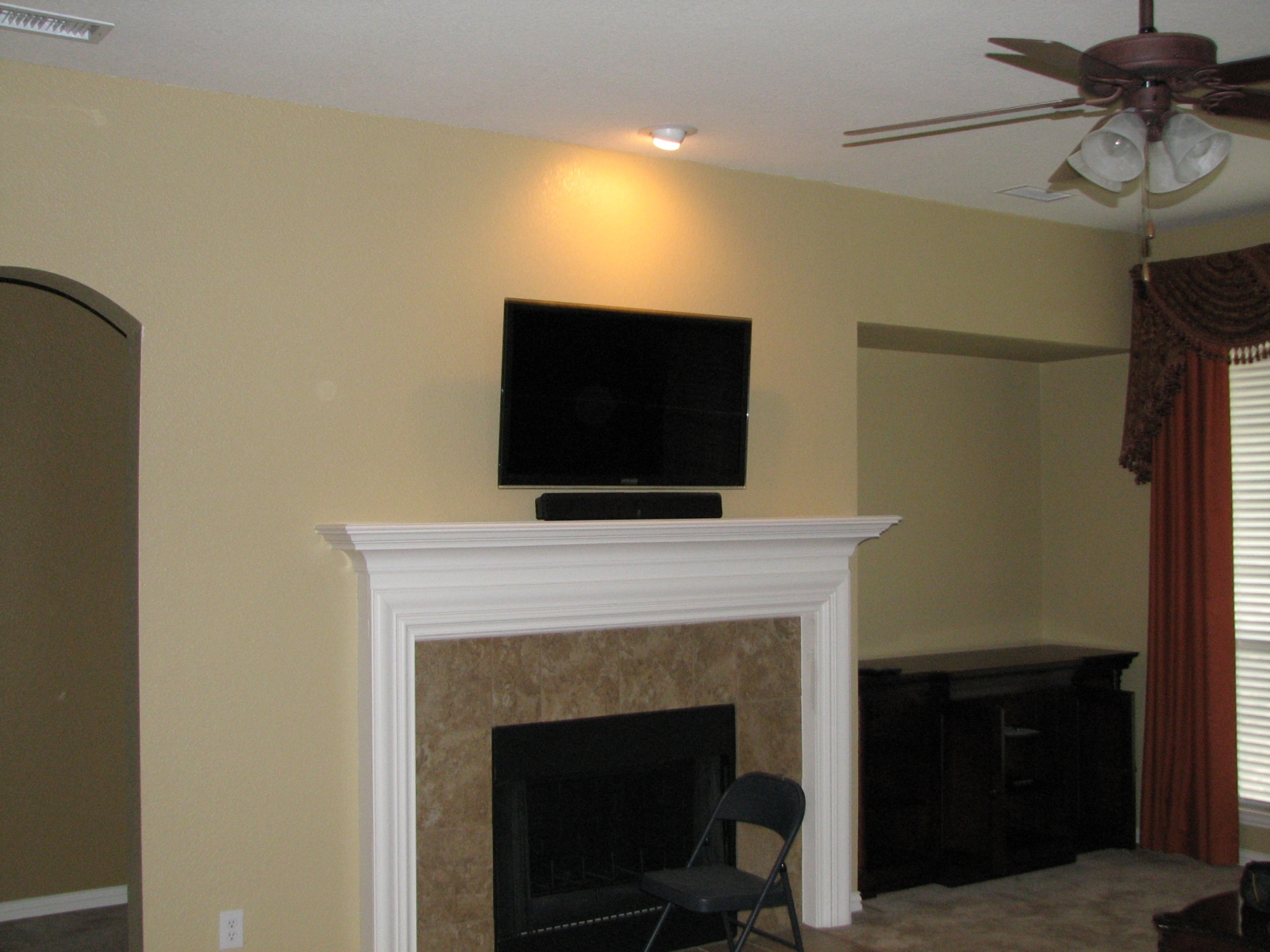 Photos Of Tv Mounted Over Fireplace Southlake Tx Pictures Posters News And Videos On Your