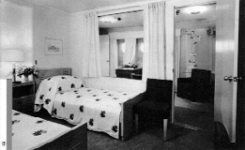 First class stateroom