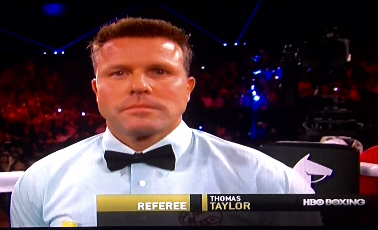 Tom Taylor Tom Taylor The Best New Referee United Combat Association