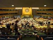 UN General Assembly room