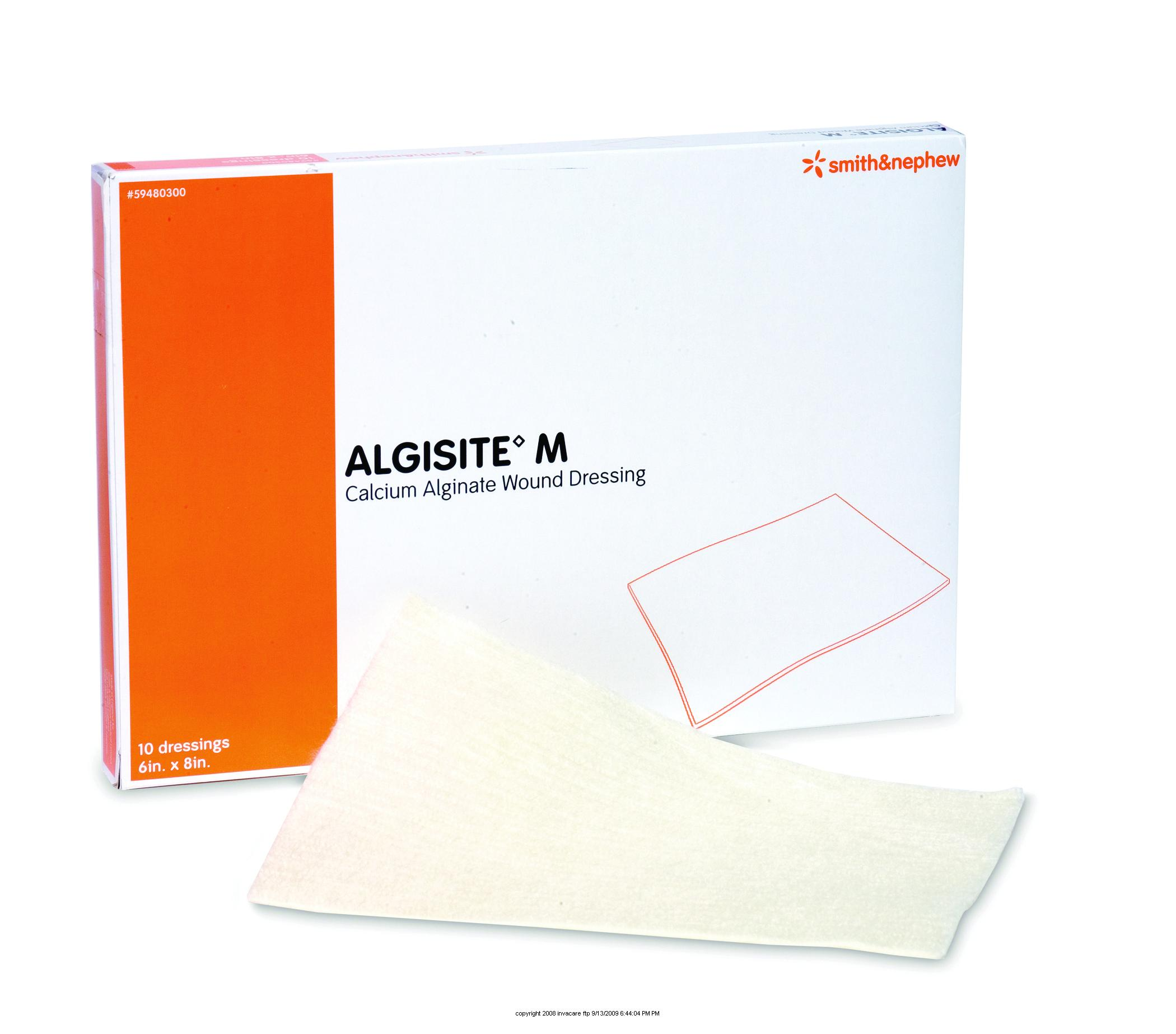 Dressing Point P Algisite M Calcium Alginate Dressing Algisite M Drs 6x8 In