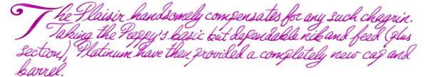 Plaisir writing sample