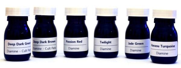 Labelled bottles