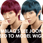 [Fun Story OTW] MBLAQ's Lee Joon used to model wigs?