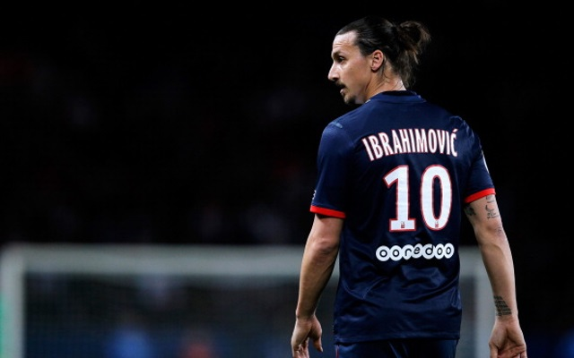 Ibrahimovic drops hint that he's ready for United challenge
