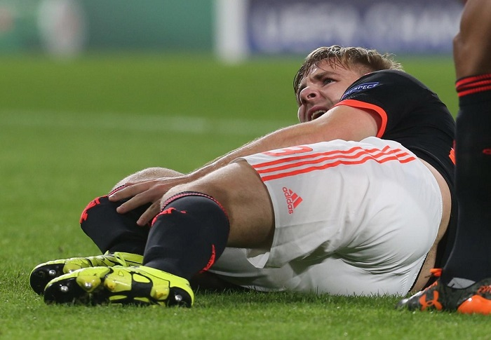 Surgery brings sights of hope for Luke Shaw