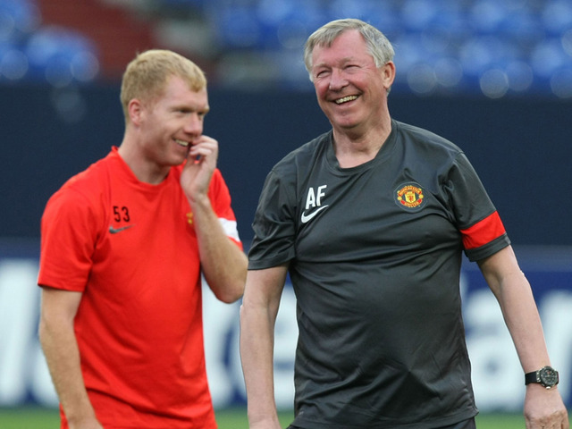 United lack balls as they get slammed by Scholes
