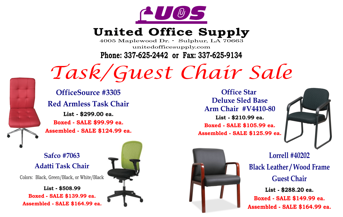 Office Stores United Office Supply Equipment Co Inc Sulphur La