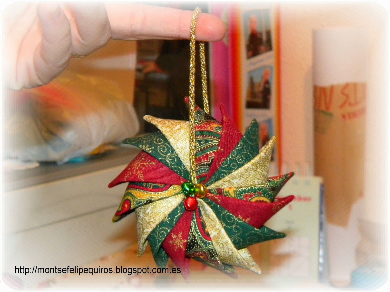 Decoration De Noel En Tissu A Faire Soi Meme Tutoriel Tutos De Noel Decorations Noel