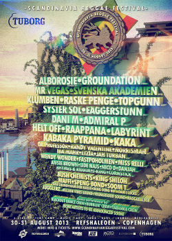 Scandinavia Reggae Festival 2013