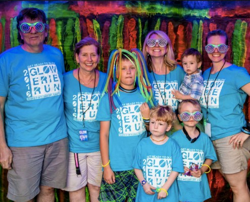 2016 Glow Erie Run Photo Tent