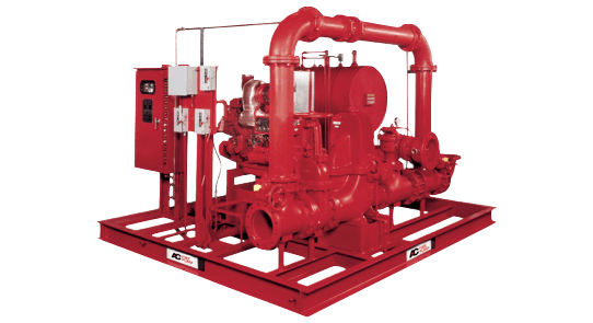 fire diesel engine diagram