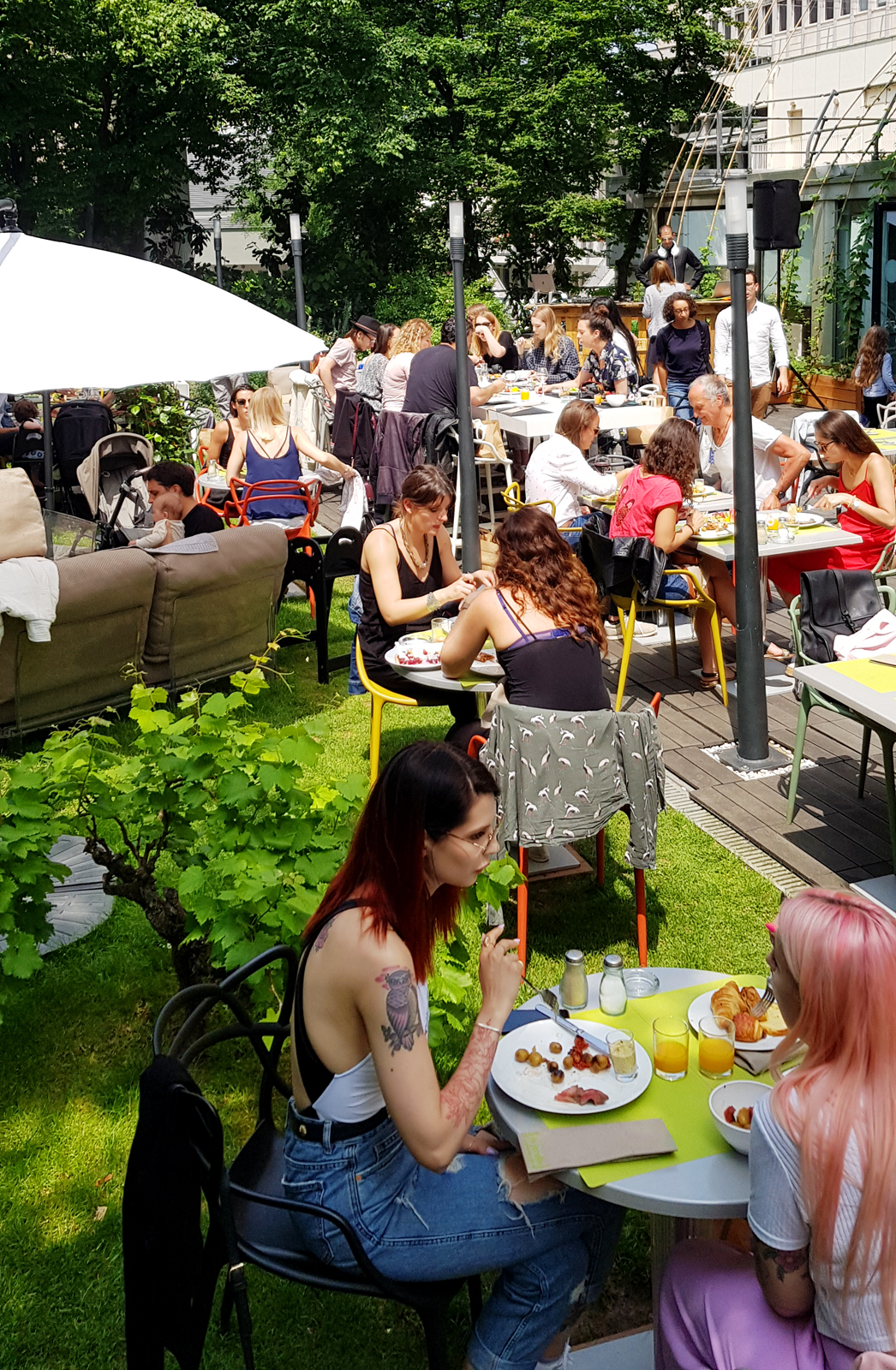 Brunch Paris Terrasse Archives Des Brunch United States Of Paris