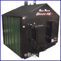New Aqua-Therm BLAZE HE Outdoor wood burner/boiler/furnace ...