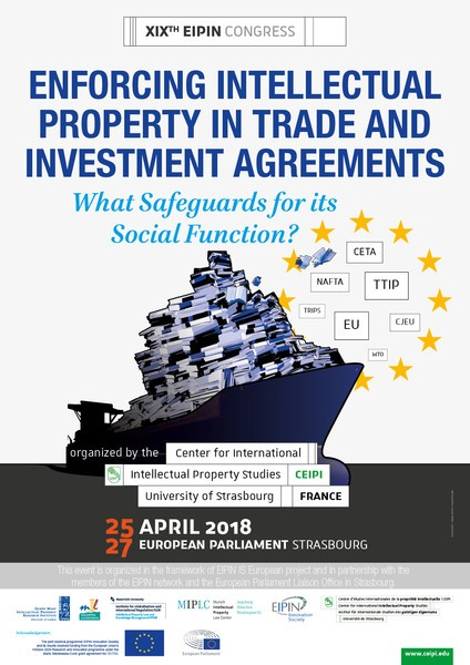 Enforcing intellectual property in trade and investment agreements