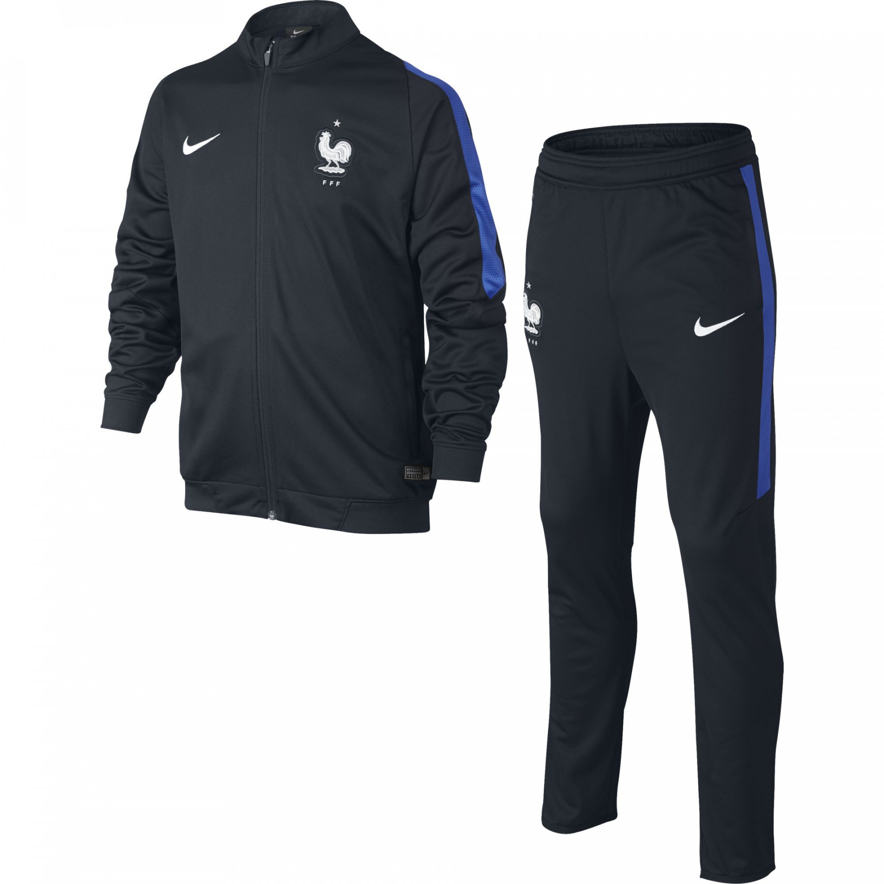 Maillot Psg Exterieur 2017 Nike Fff Survetement Jr Marine 2016 - France - Nation