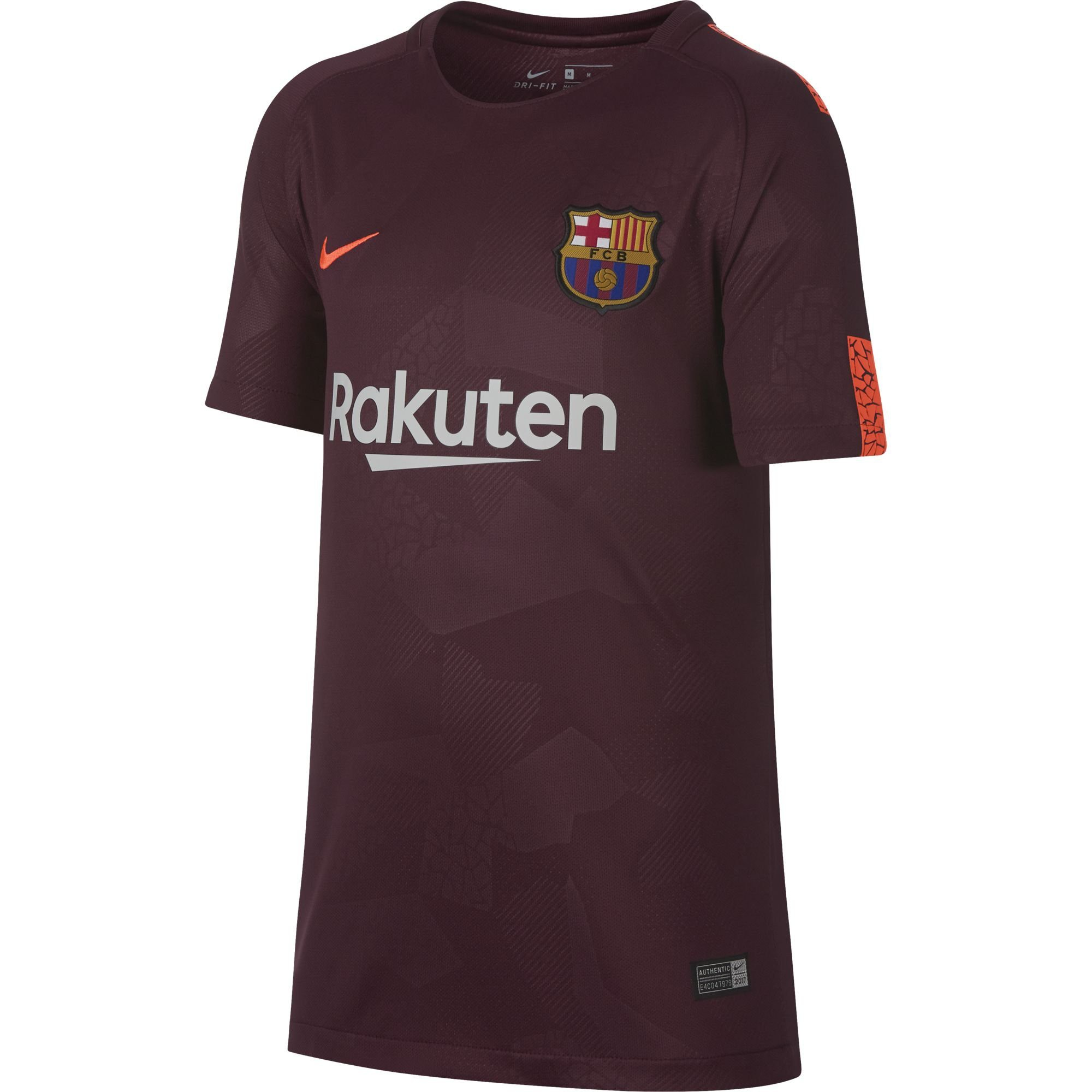 Maillot Barca 2017 Exterieur Nike Barcelone Maillot Third Junior 2017 2018