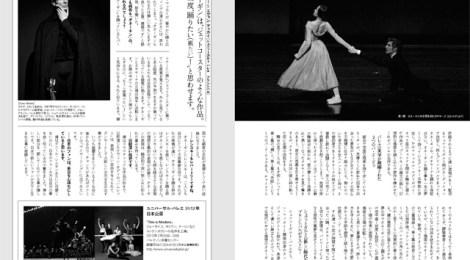 『SWAN MAGAZINE vol.26(2012年冬号)』に記事が掲載されました