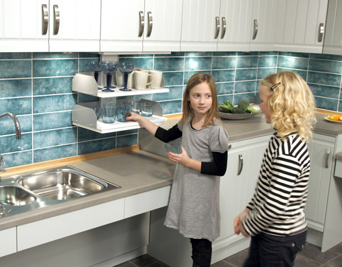 Accessible Upper Kitchen Cabinets Freedom Lifts Systems For The Kitchen