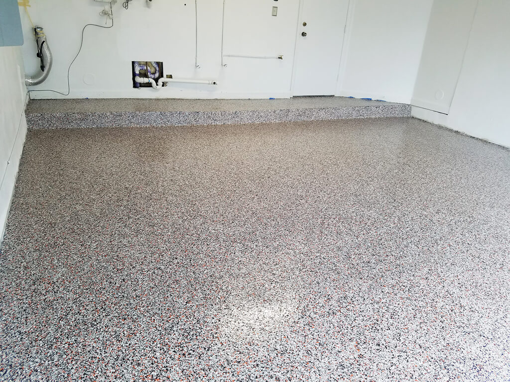 Garage Epoxy With Flakes Garage Floor Epoxy Epoxy Floor Coating Epoxy Flooring For Homes