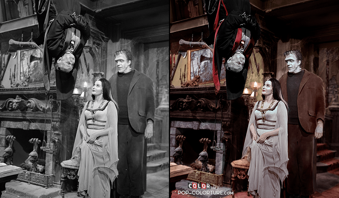 "From Pop Culture to POP COLORTURE - ""The Munsters""."