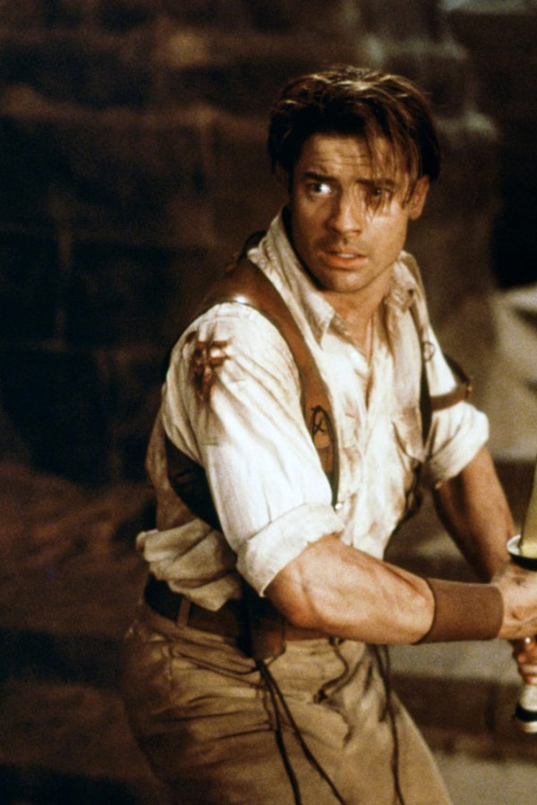 Young Brendan Fraser The Mummy What Does Brendan Fras...